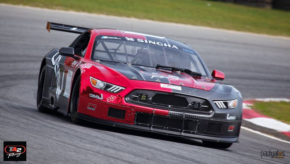 "Craig Corliss steered ""LENSO FORD MUSTANG"" to supremacy in TA2 THAILAND RACING"
